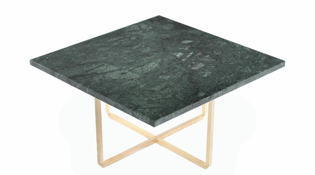 soffbord grön marmor