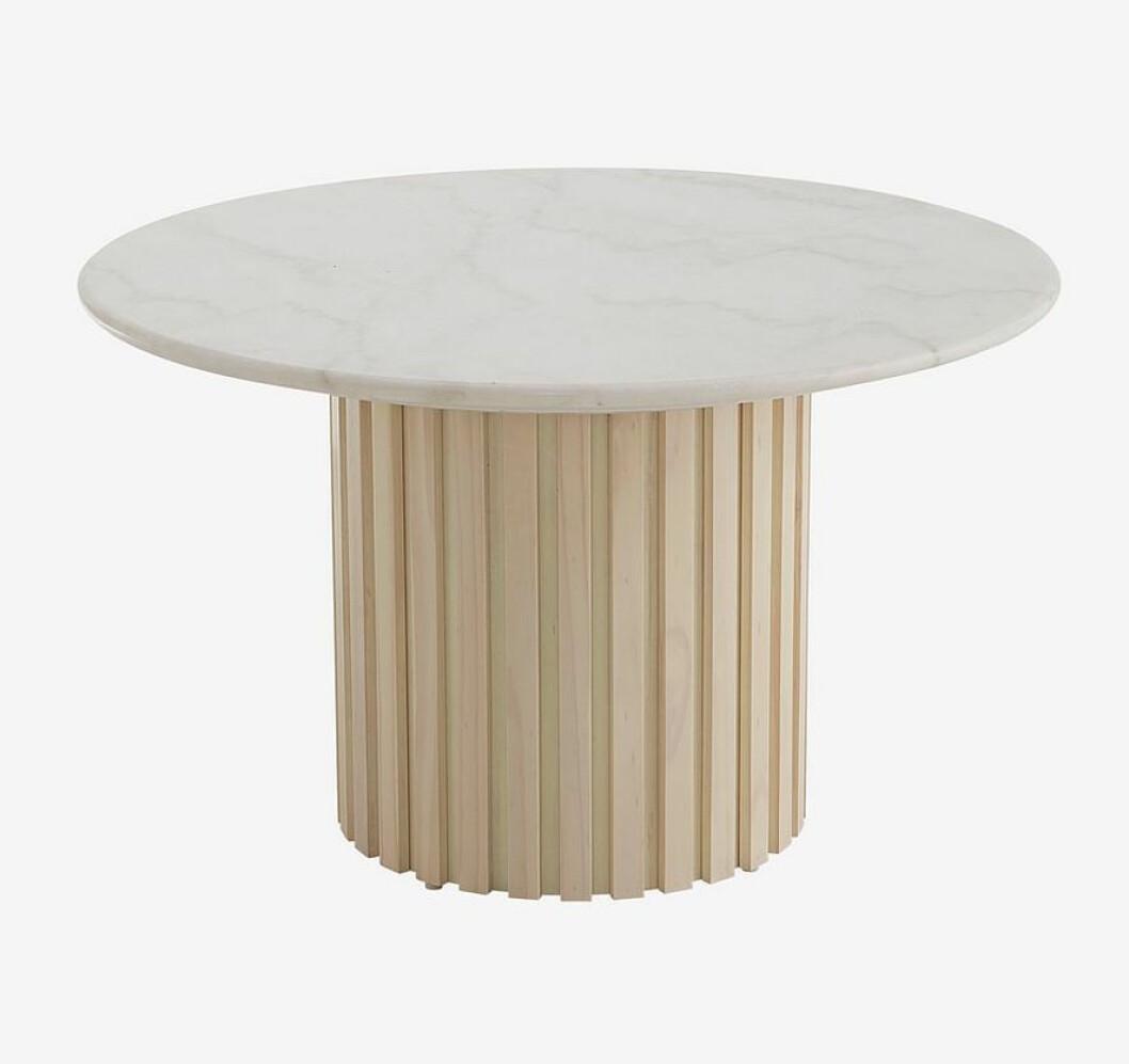 Soffbord med marmor från Ellos home