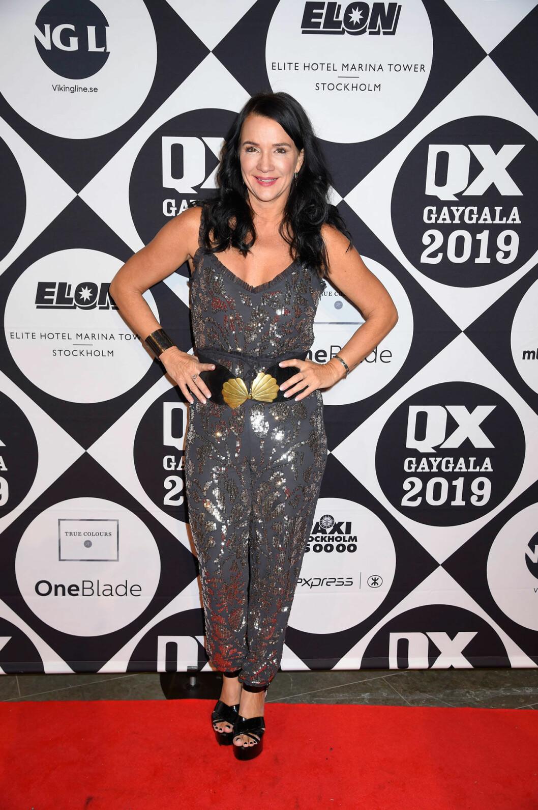 Sofia Wistam på QX-galan
