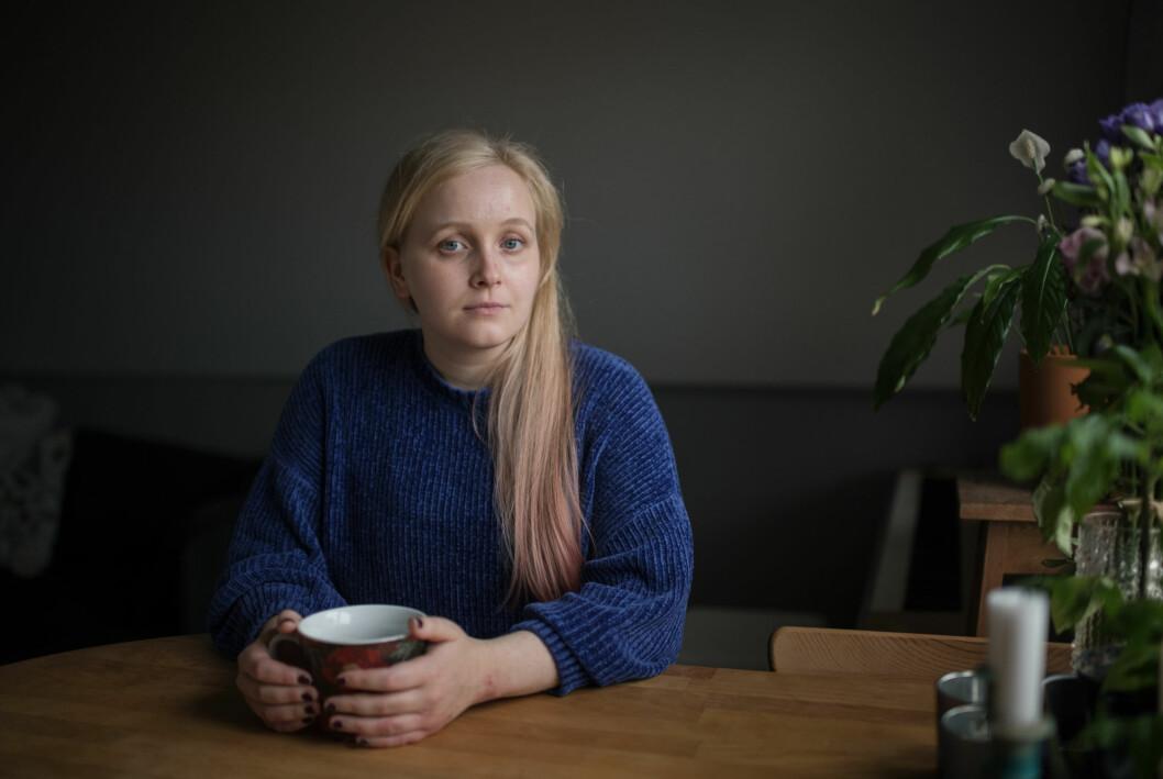 Sofie Hagfalk Woss lider av vestibulit.
