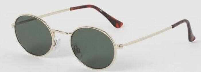 Metall solglasögon med UV-skydd