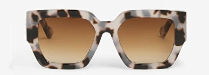 Solglasögon retro med brunt glas
