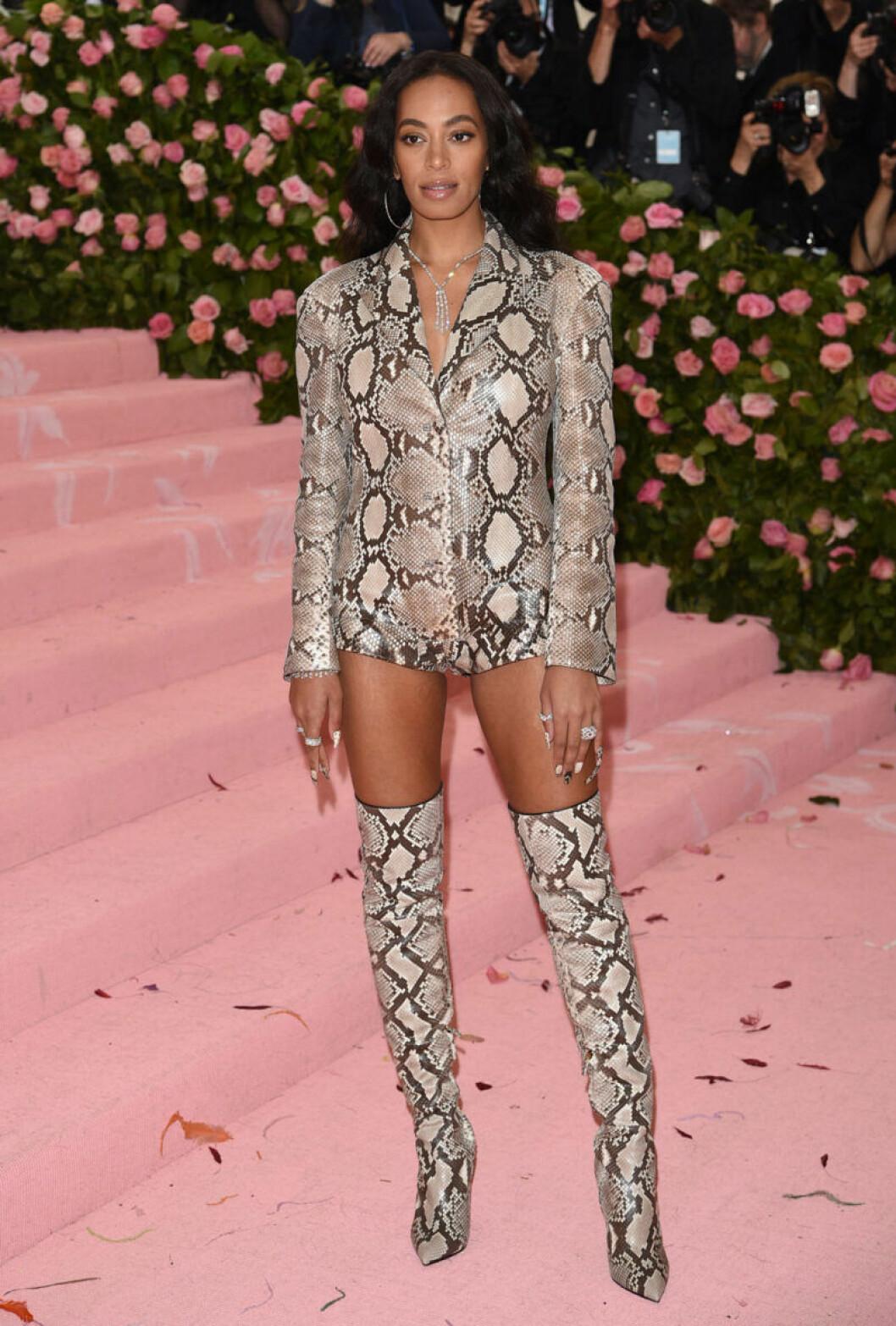 Solange Knowles på röda mattan