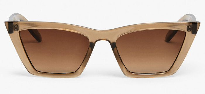 bruna solglasögon cateye