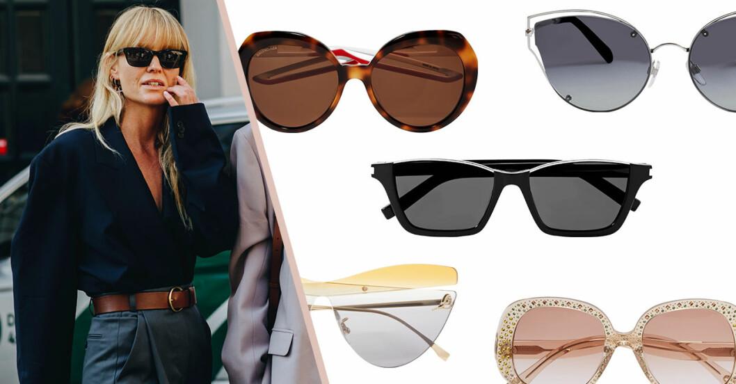 Solglasögon på rea från Fendi, Gucci, Marni, Chloé med mera