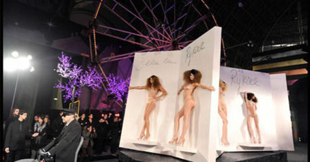 Sonia Rykiel Pour H&M premiärvisas i Paris.