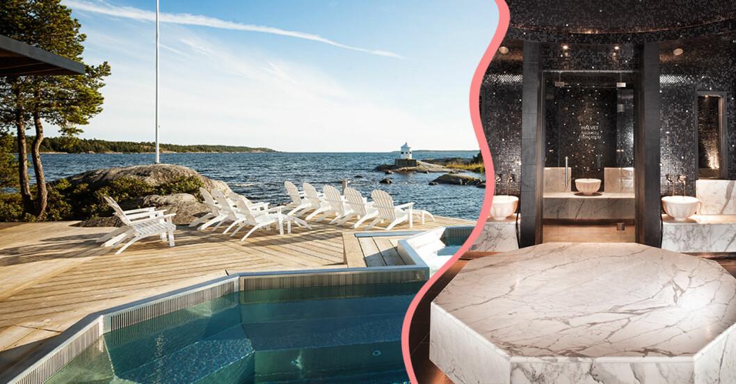 Bo på spahotell eller åk på dagspa i närheten av Stockholm