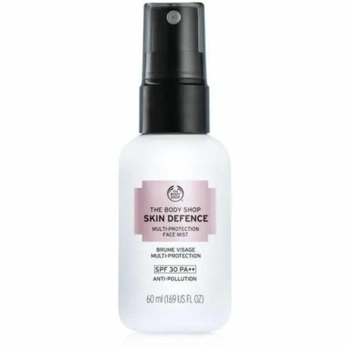 SPF-mist solskydd för ansiktet från The Body Shop