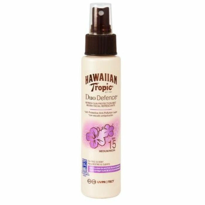 Hawaiian spf-spray för ansiktet