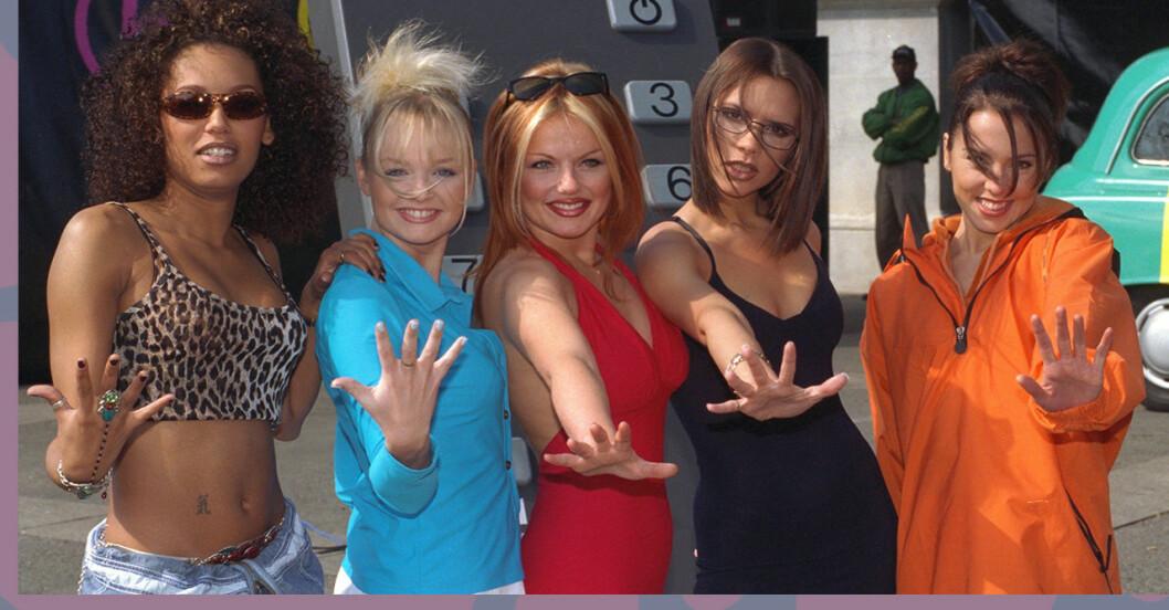Spice Girls på gruppbild