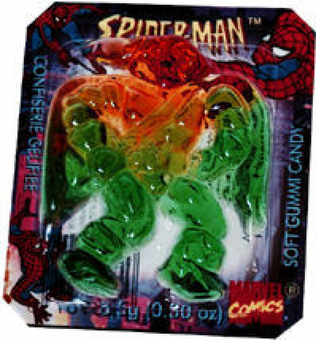 spiderman godis
