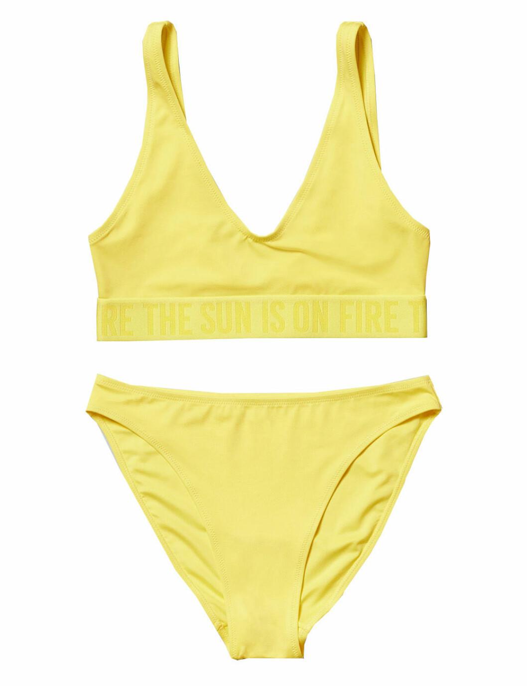 Sportig bikini från Weekday