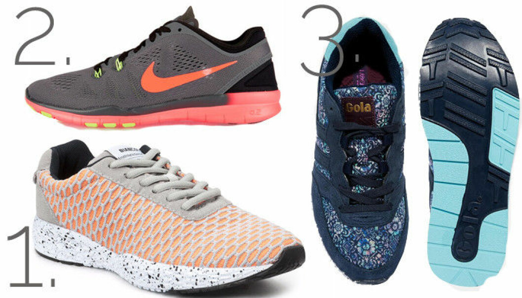 sportiga sneakers