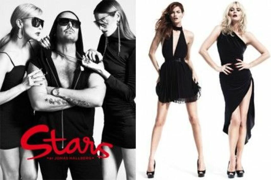Stars by Jonas Hallberg lanseras på Nelly.com i slutet av april.