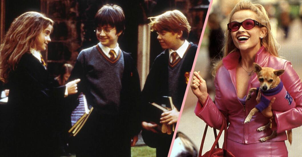 Harry Potter och Legally Blonde