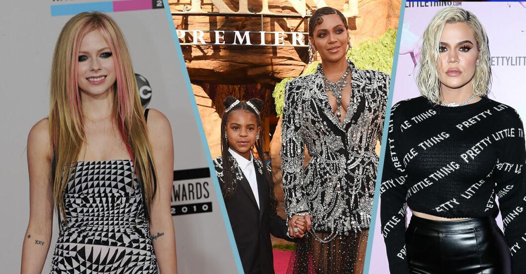 Konspirationsteorier om Avril, Beyonce och Khloe Kardashian.