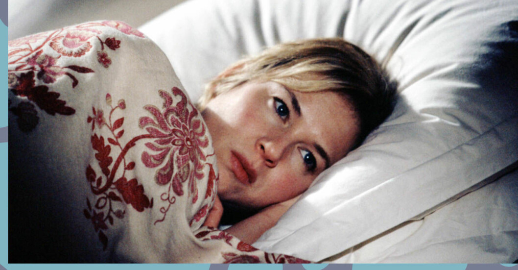 Bridget Jones kan inte sova