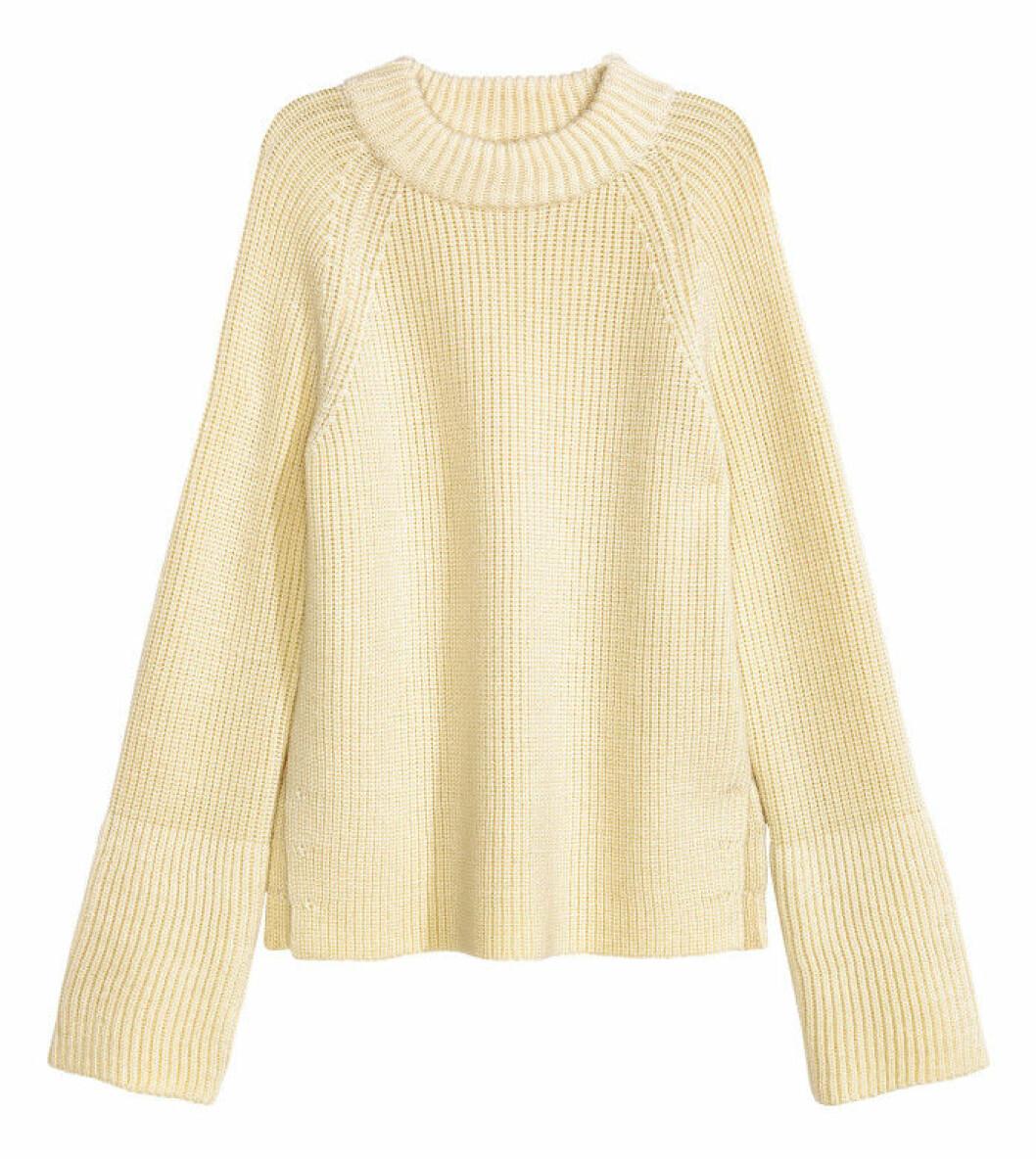 Stickad tröja, H&M, 499 kr