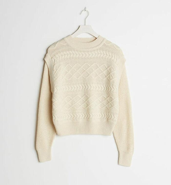 Stickad tröja från Gina Tricot