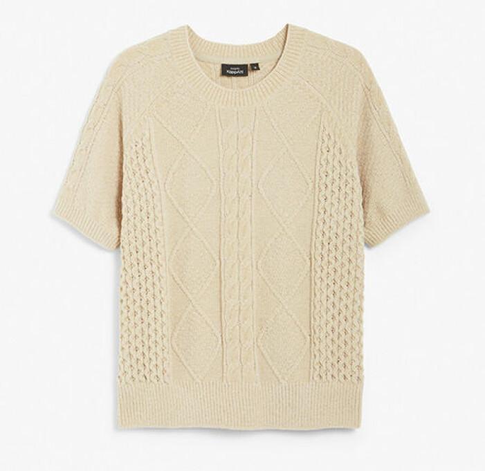 Stickad tröja från KappAhl
