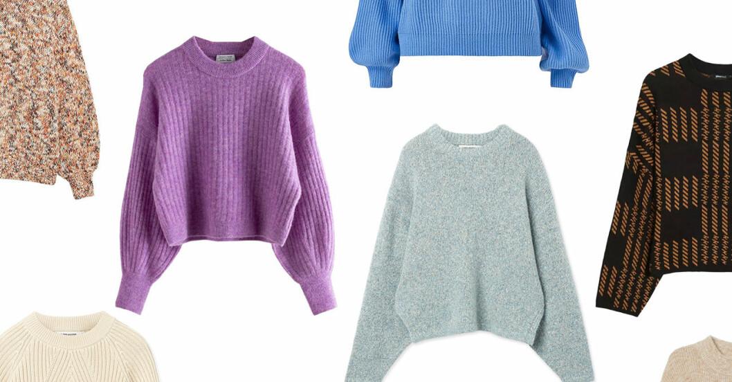 Stickade tröjor för dam till hösten 2019