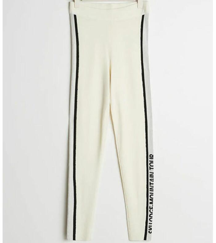 stickade vita tights