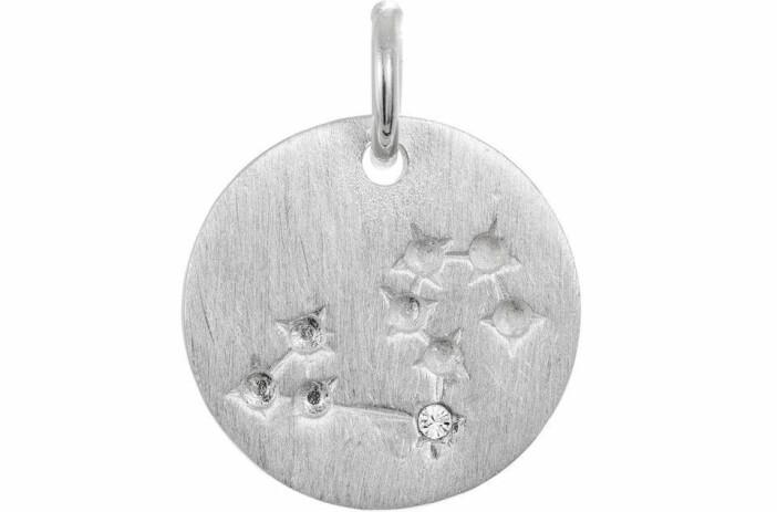 stjärntecken halsband silver hallbergs guld