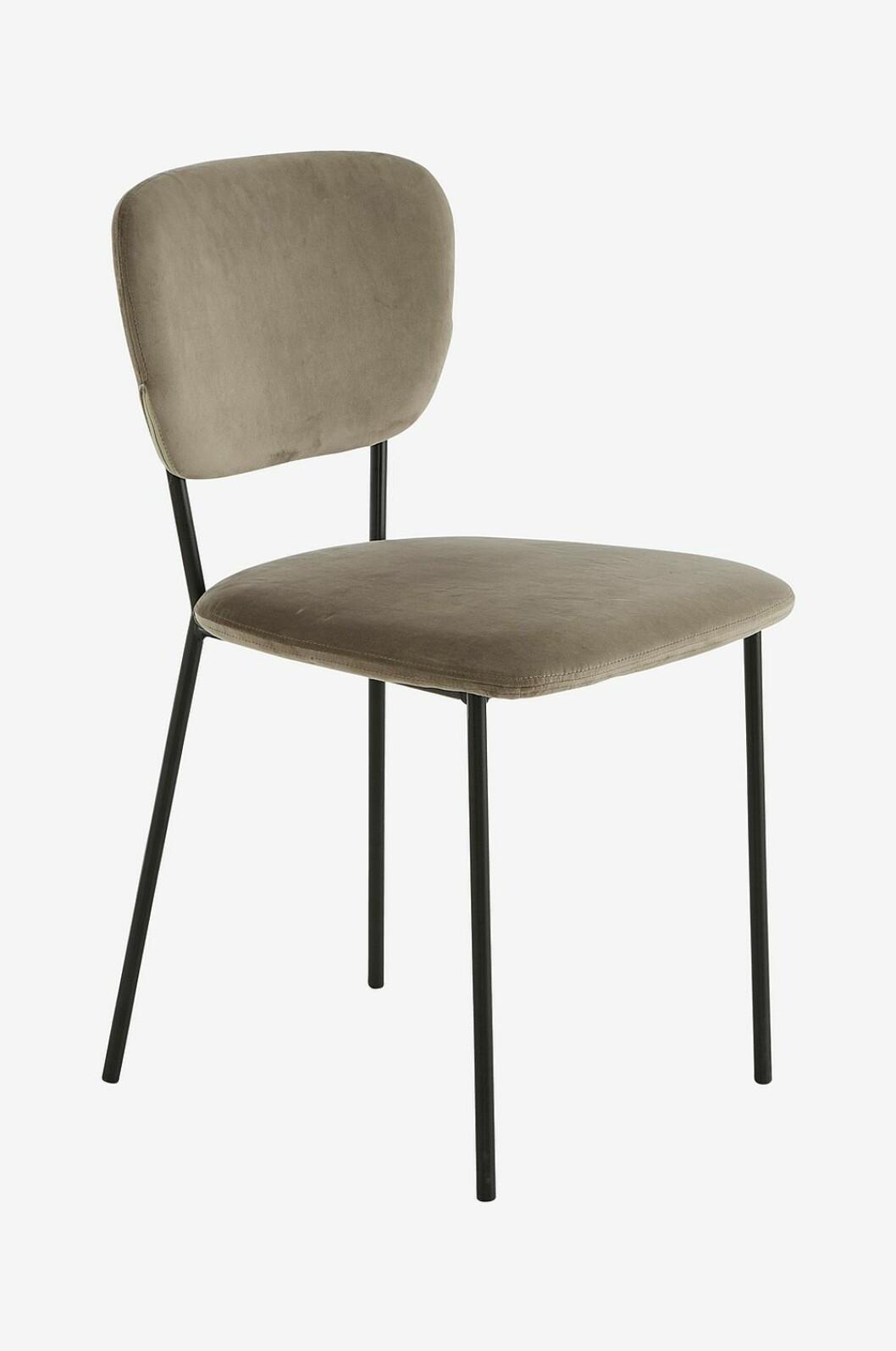 Grön stol i sammet