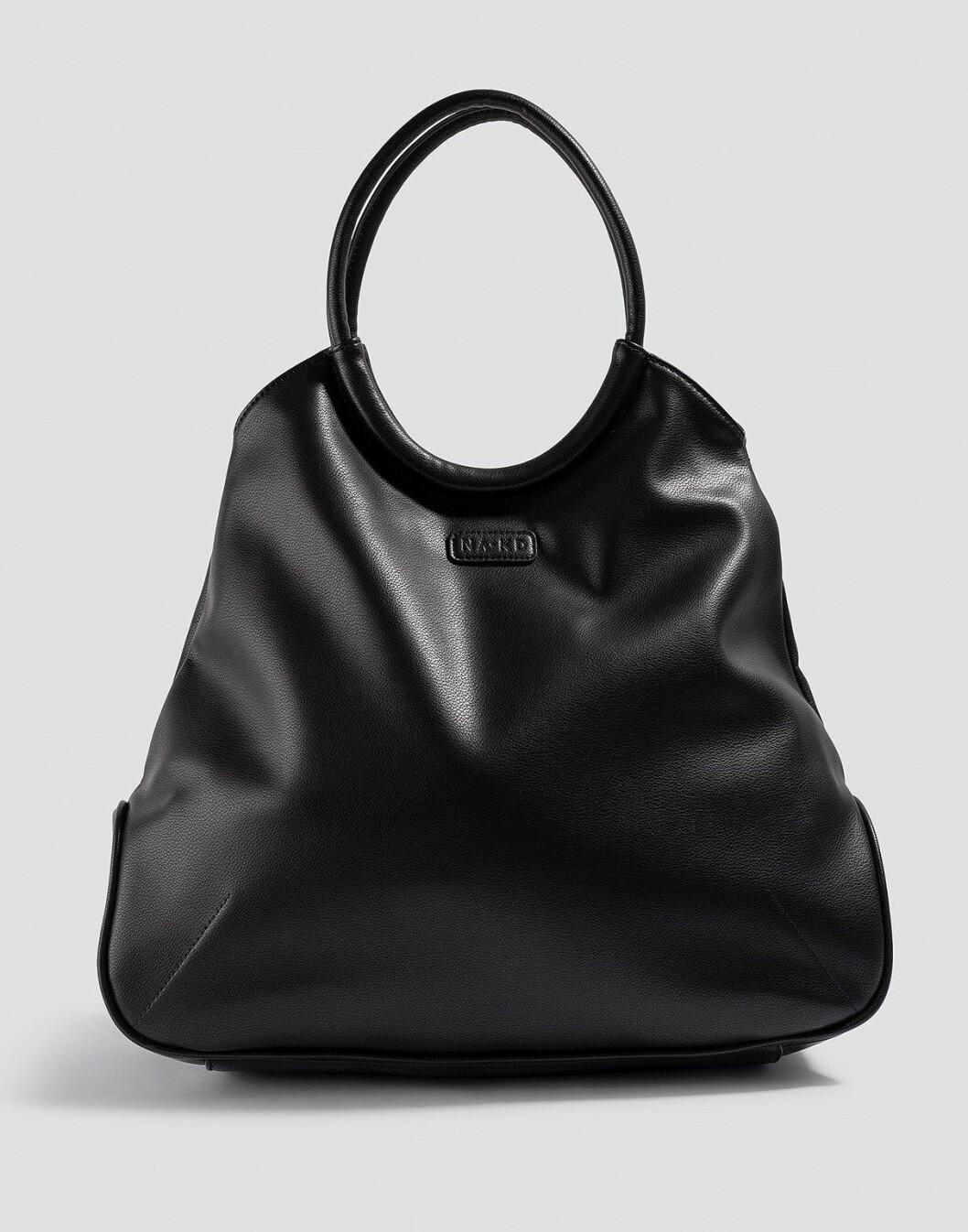 Svart stor väska för dam till 2019
