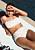 blommig bikini med smock