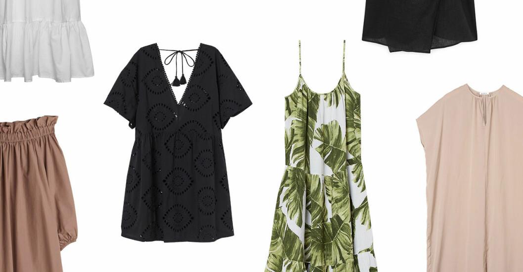 Strandklänningar för dam till sommaren 2020