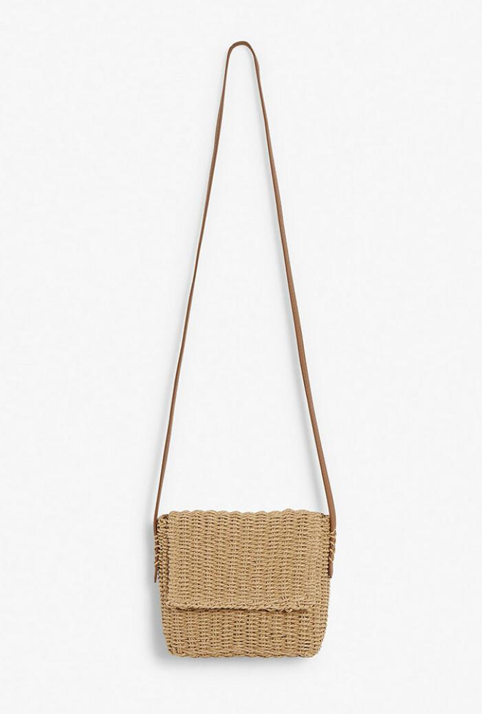 liten stråväska från kappahl