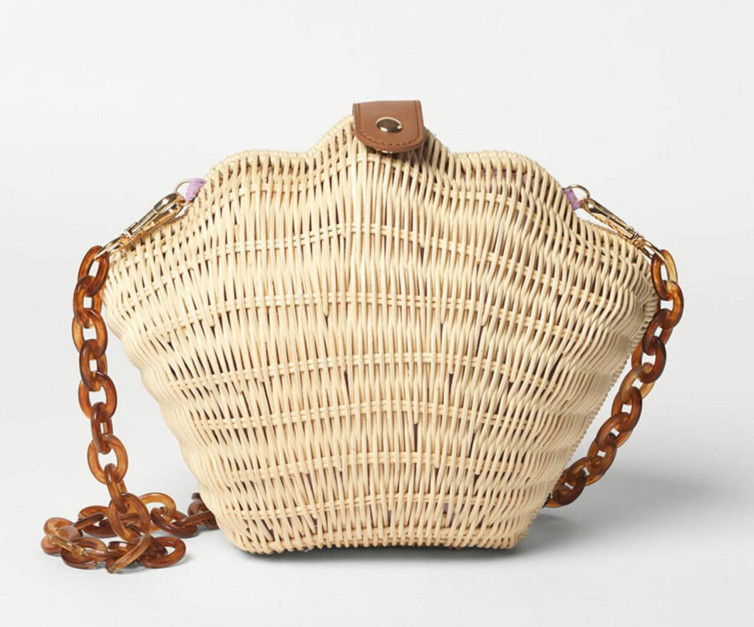 Snäckformad stråväska för dam till 2020