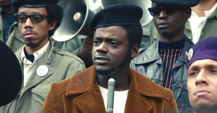 Daniel Kaluuya i rollen som Fred Hampton i Svarta pantrarna i filmen Judas and the Black Messiah.