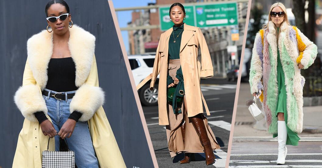 Street style från New York fashion week