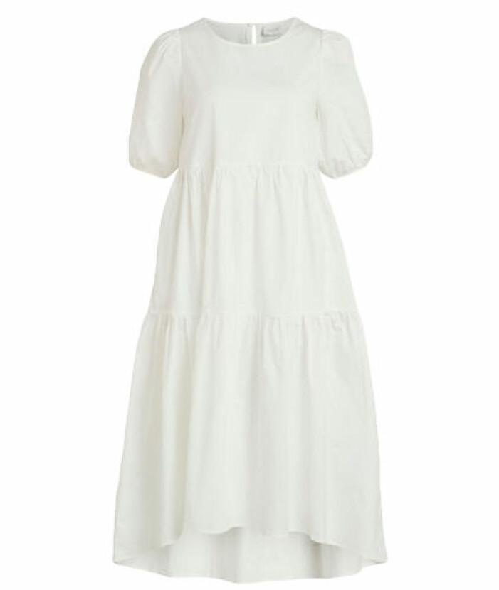 student 2021 Kortärmad klänning med puffärmar från Vila