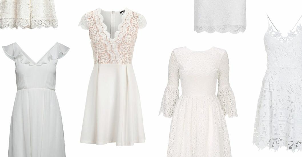 Studentklänningar 2019 vita klänningar dam sommar