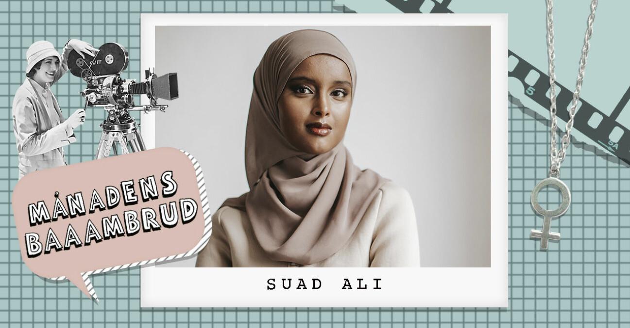 Suad Ali är Baaambrud i december och aktuell med Dina händer var fulla av liv
