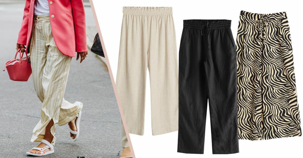 Svala byxor för dam till sommaren 2020