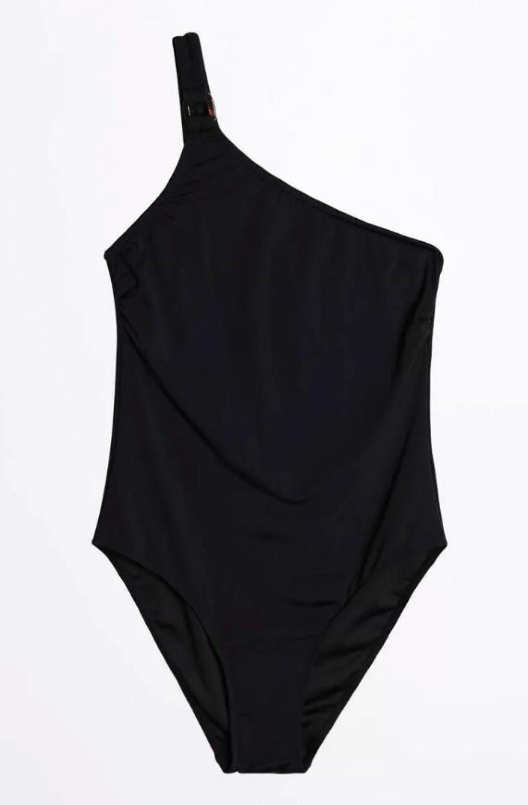 Svart baddräkt från Gina tricot till sommaren 2019