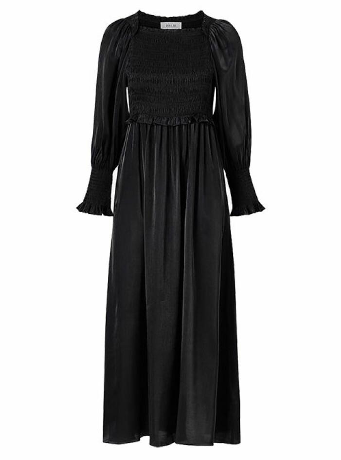 svart balklänning
