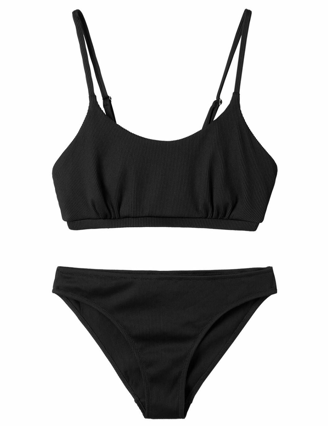 Svart bikini för dam till sommaren 2020