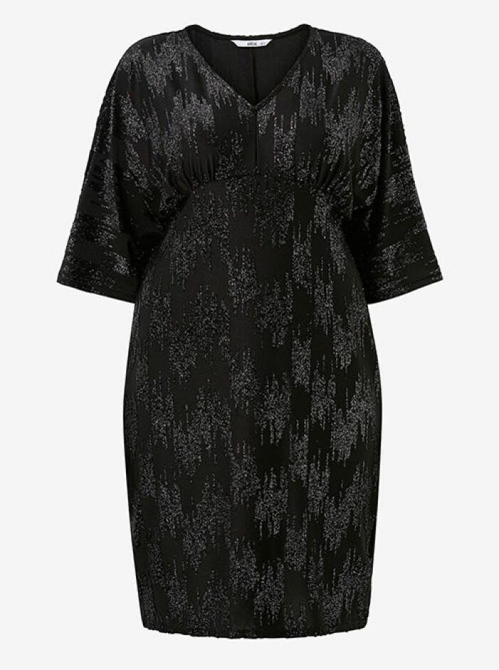 svart glittrig klänning från kakan x ellos