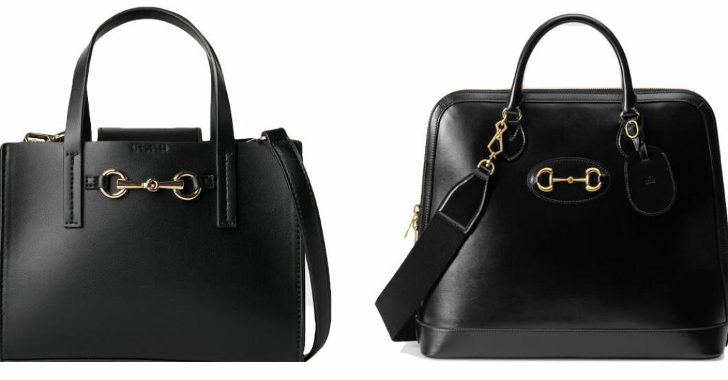 Svart handväska från Gucci