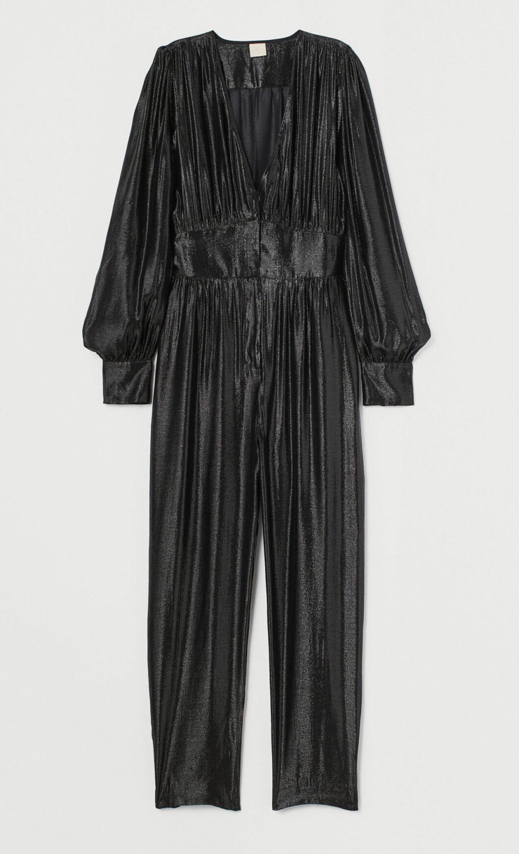Glittrig jumpsuit för dam till festen 2019