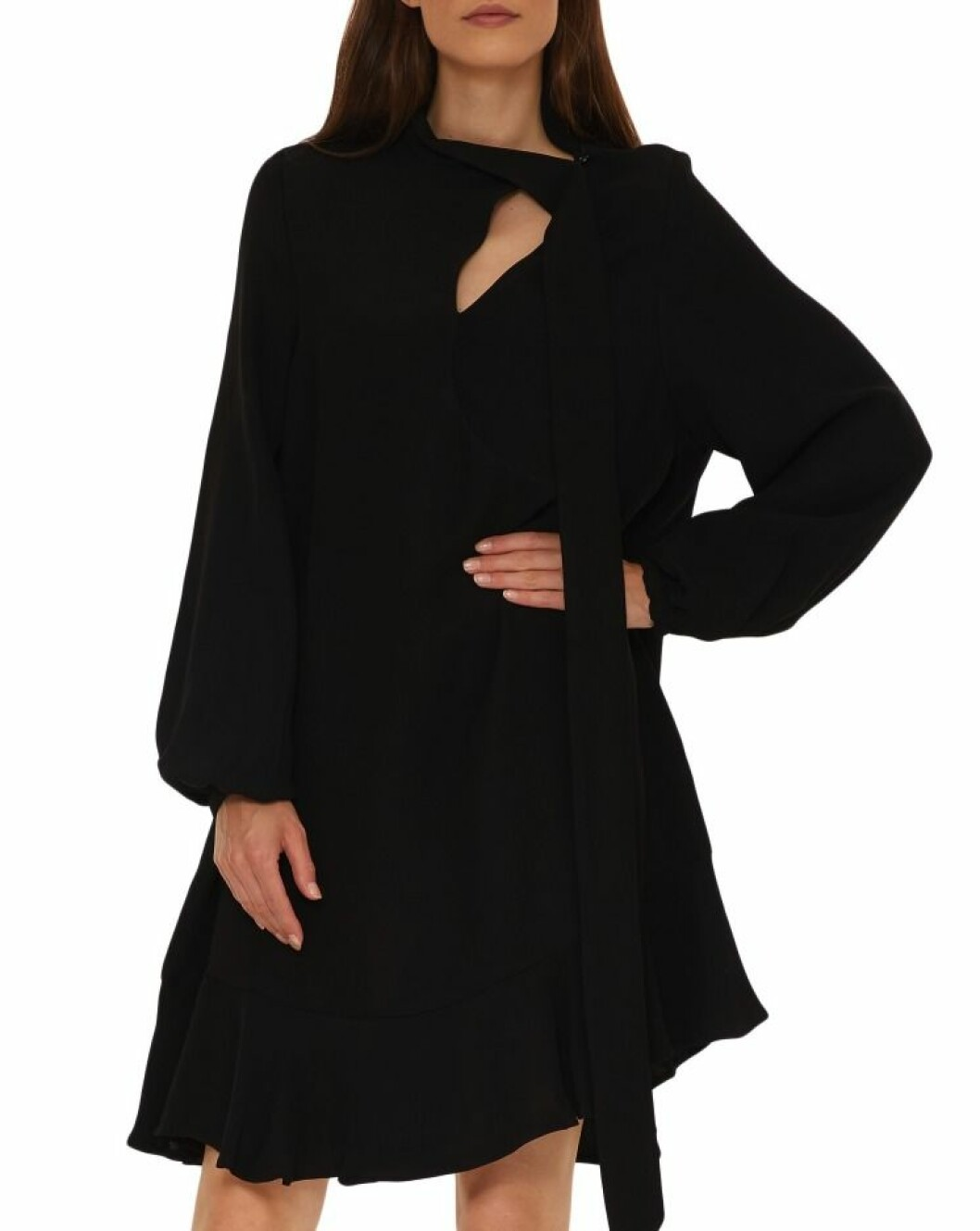Svart klänning från Rodebjer