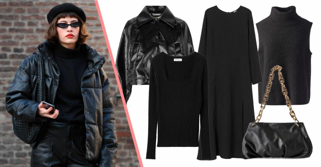 svart mode våren 2021