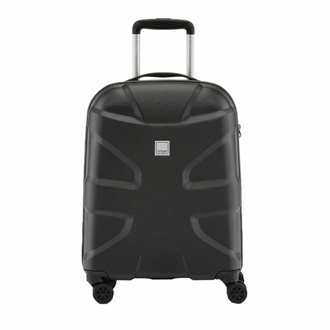 Svart resväska