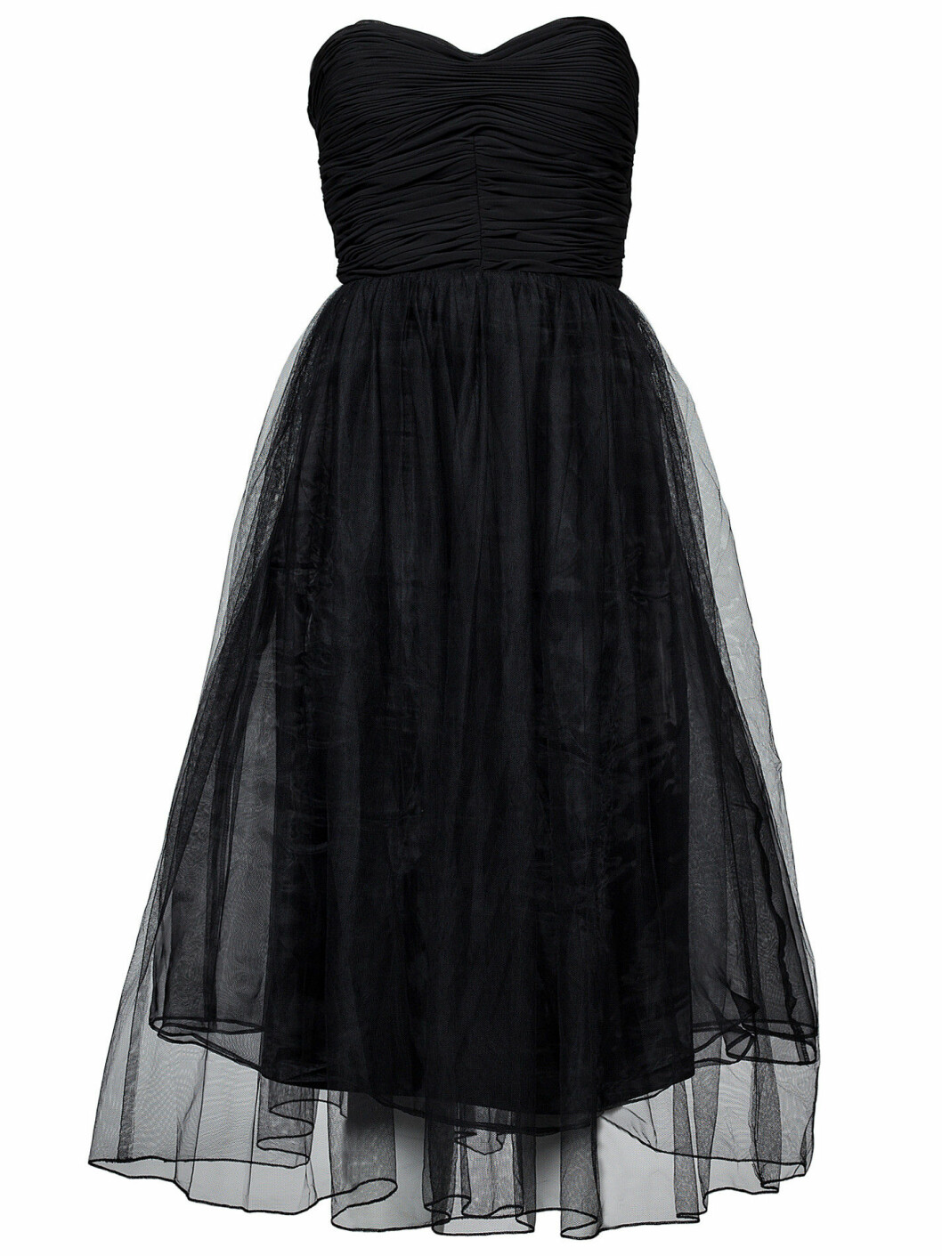 svart tyllklänning nyår