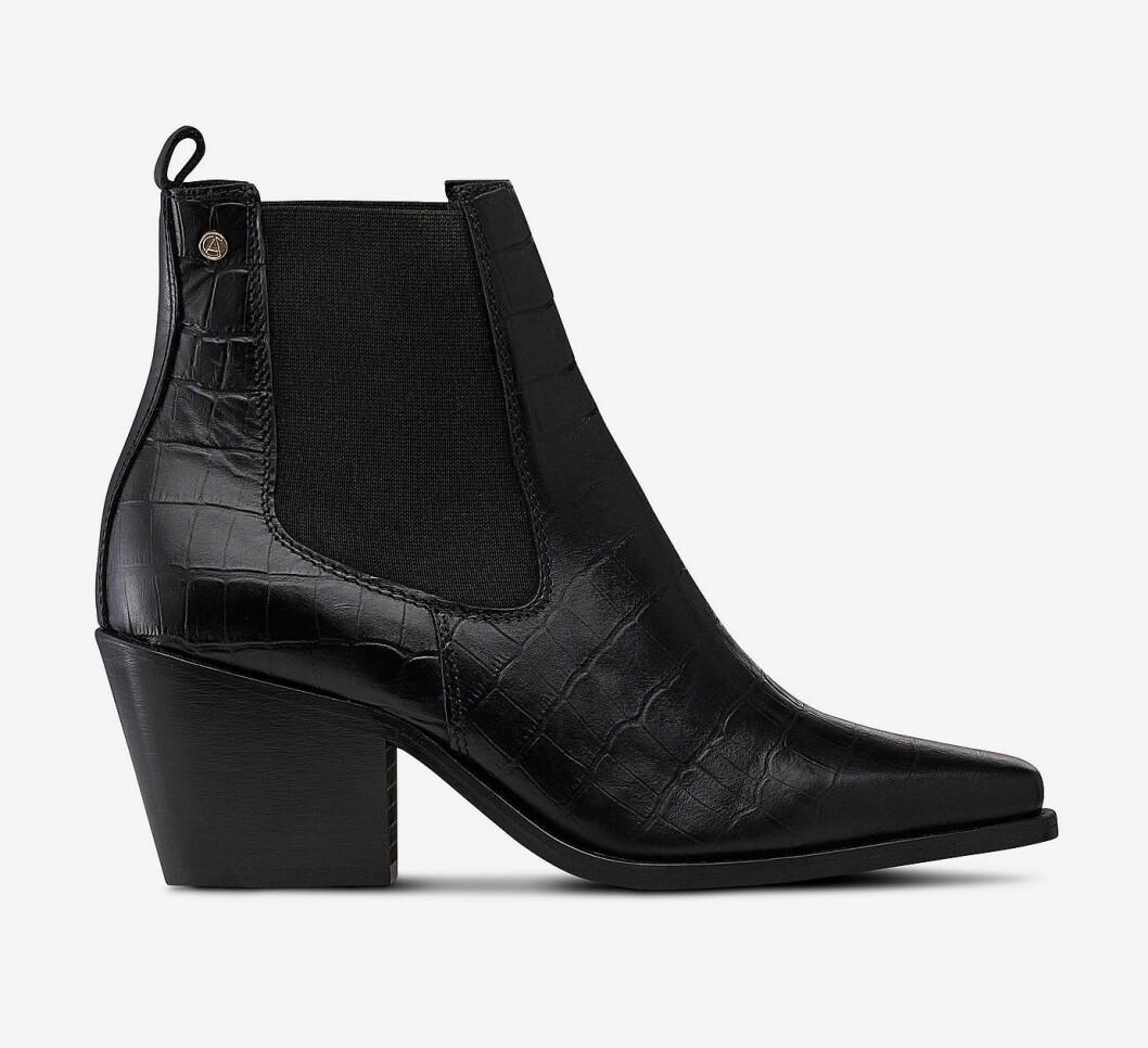 Svarta boots för dam till hösten och vintern 2019
